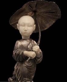Мальчик с зонтиком-