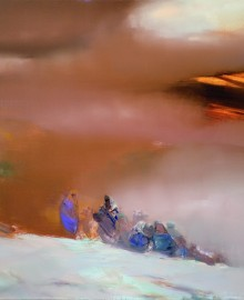 %22Пыльная буря%22 110х130см. х.м. 2008г.