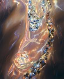 Дочь Солнца, хм, 137х85, 1995