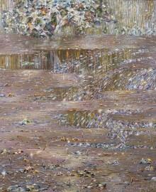 Розовая идиллия, хм, 100х100, 1994