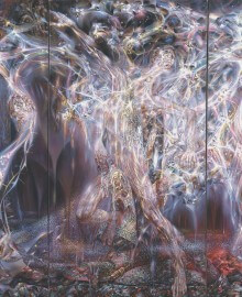 Сияние, триптих, хм, 230х320, 1994